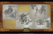Pandaren Clans Concept