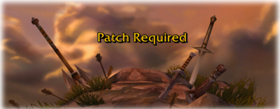 Patch Required title