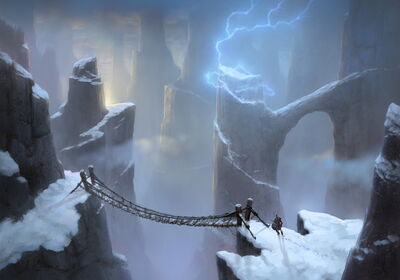 Storm Peaks Art Justin Kunz