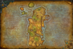 Kalimdor map bfa
