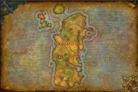 Kalimdor map bfa