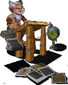 Иконка Wiki - гном за работой