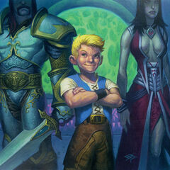 Anduin in the Trading Card Game.
