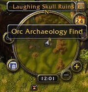 Archaeology Artifact node