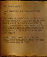 Lettre de Fizzle Brassbolts 1
