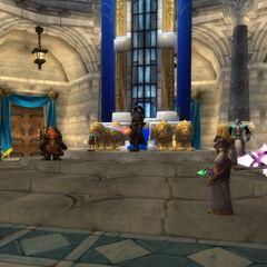 Велен беседует с лидерами Альянса.