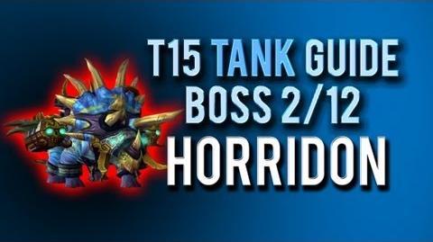 """""""Horridon"""" TANK Guide → Boss 2 12 in Throne of Thunder"""