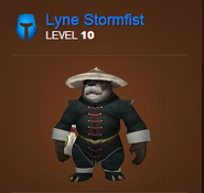 Lyne Stormfist