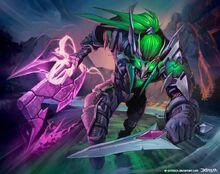 Warcraft night elf rogue by el grimlock-d6wy6sl