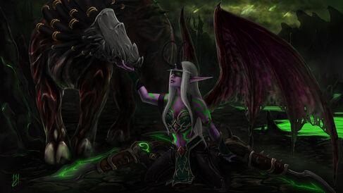 Demon hunter by yunela-d9dwf6c