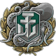 Icon achievement WARRIOR