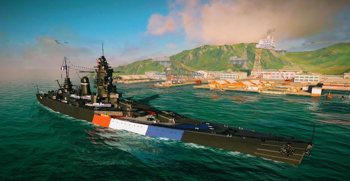 Dunkerque   World of Warships Blitz Wiki   FANDOM powered by Wikia
