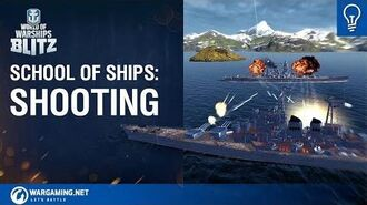 World of Warships Blitz School Of Ships Ep 1 Shooting