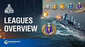 World of Warships Blitz League System