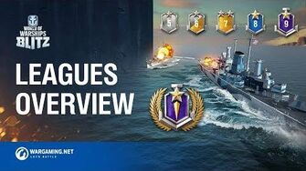 World of Warships Blitz League System