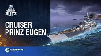 World of Warships Blitz Prinz Eugen has arrived!
