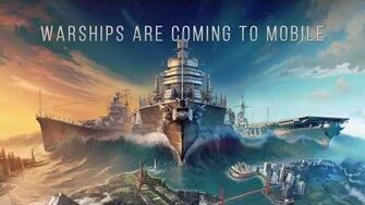 WARSHIPS ARE COMING TO MOBILE