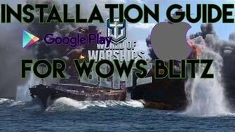 """How to Download """"World of Warships Blitz"""" for iOS Apple"""