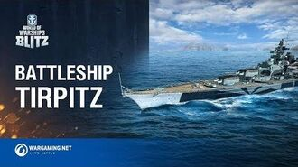 World of Warships Blitz Battleship Tirpitz