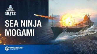 World of Warships Blitz Sea Ninja Mogami