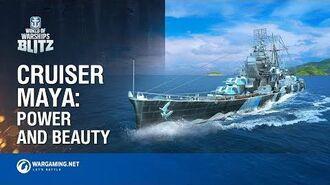New Japanese Cruiser Maya has Come to Win