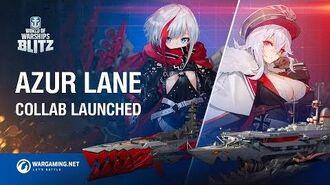 Azur Lane meets World of Warships Blitz