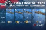 German Destroyers Early Access