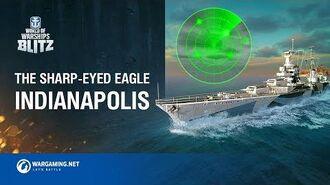 World of Warships Blitz Sharp-Eyed Eagle Indianapolis