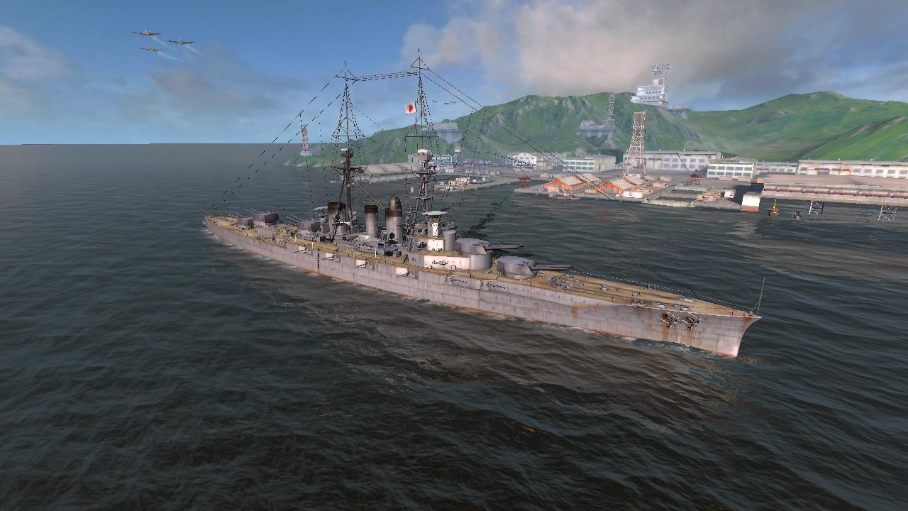 Ishizuchi   World of Warships Blitz Wiki   FANDOM powered by