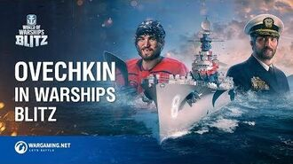 Ovechkin in World of Warships Blitz
