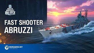 World of Warships Blitz Fast Shooter Abruzzi