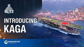 World of Warships Blitz Kaga and Her Planes