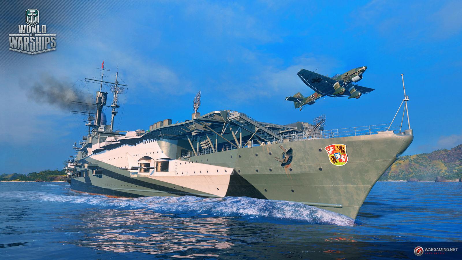 Graf Zeppelin | World of Warships Blitz Wiki | Fandom
