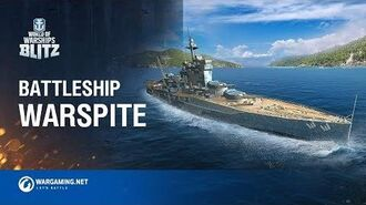 World of Warships Blitz Battleship Warspite