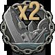 Icon achievement DOUBLE KILL