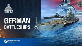 World of Warships Blitz German Battleships