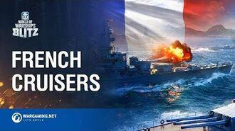 World of Warships Blitz French Cruisers