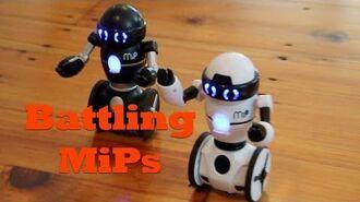 MiP Robots Battle It Out. Watch MiP and Friends Battle To The Death!
