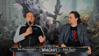 Battle for Azeroth Live Developer Q&A w Ion Hazzikostas 3 15 2018