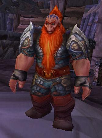 Firebeard Gryphon Rider