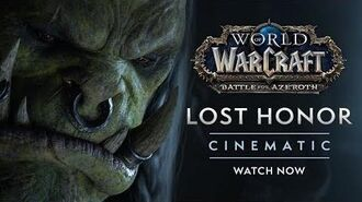 """Cinematic """"Lost Honor"""""""