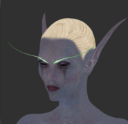 Slyvanas for Legion cinematic facial modeling features