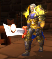 Tirion Fordring in Cataclysm