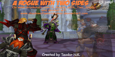 A Rogue with Two Sides (webcomic) small banner
