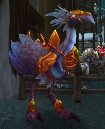 Stabled Silvermoon Hawkstrider