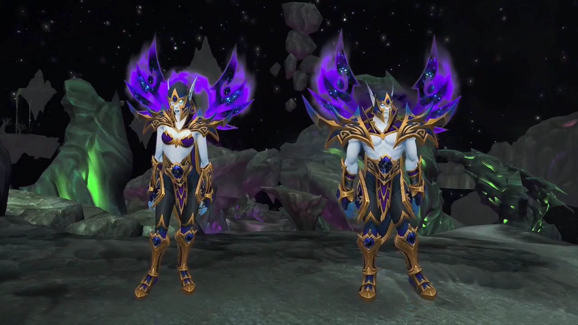 Heritage Armor-Void Elves