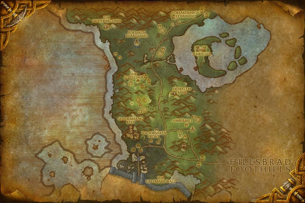 Vanilla maps | WoWWiki | Fandom