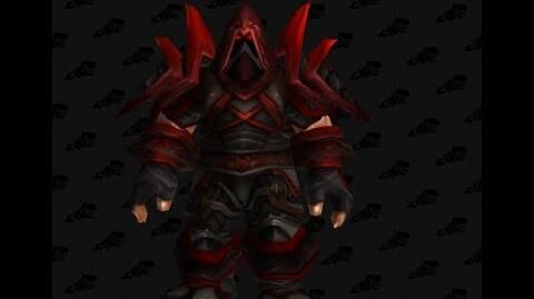 Bloodfang Armor - Rogue T2 Tier 2 - World of Warcraft Classic Vanilla