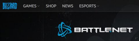 Blizzard logo and Battle-net logo