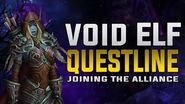 Void Elf Questline - Voiceover - This is HOW the Void Elves Join the Alliance Forces! - SPOILERS!